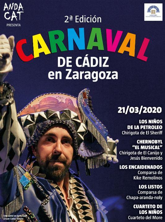 Imagen CARNAVAL DE CÁDIZ EN ZARAGOZA